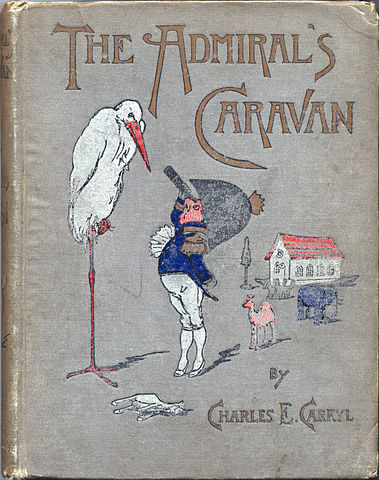 Random kid's book cover from the late 1800s (Courtesy of Wikimedia Commons)