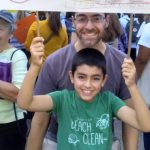 ayhan and me at climate rally-3